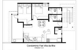 REF: AP-529 - Apartamento em Ilhabela-SP  Vila -. Centro