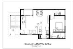 Apartamento à venda  em Ilhabela-SP - Praia da Vila REF:532